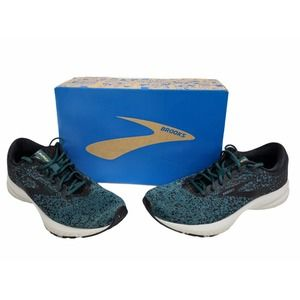 Brooks Launch 6 Black Atlantic Gold Running Shoes